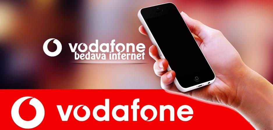 Vodafone Bedava İnternet Kampanyası 2021